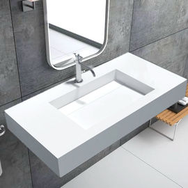 Shower Room Wall Hung Basin / Sanitary Ware Small Wall Mounted Sink