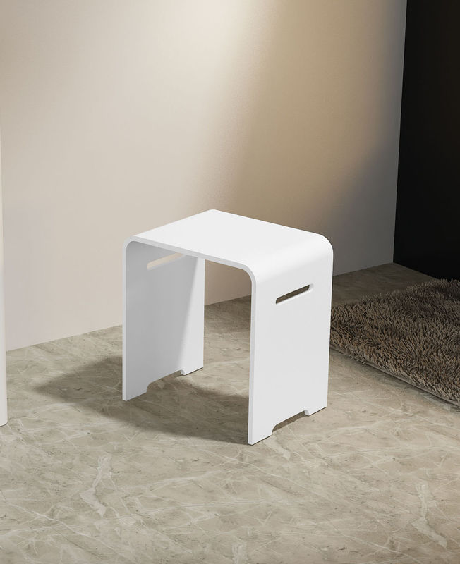 Fashion Stone Shower Stool Home Hotel Artificial Stone Bench