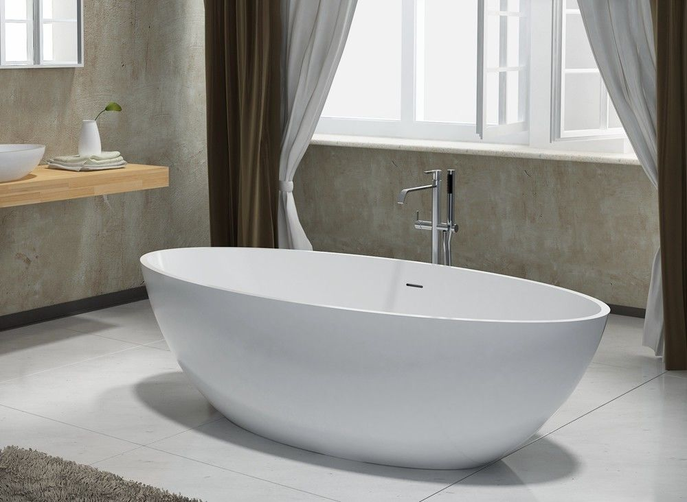 Luxury Delicate Freestanding Soaking Bathtub 1.209CBM Home Hotel Use