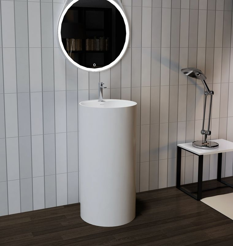 Modern Design Freestanding Bathroom Basin UV Resistant Eco Friendly