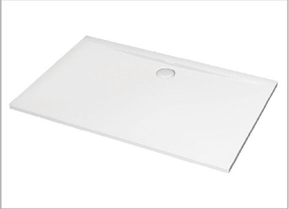 Square Stone Resin Shower Tray 1400mm Matt Or Glossy Surface Finish