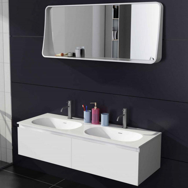 Indoor Home Bathroom Vanities Cabinets Corner Bathroom Sink