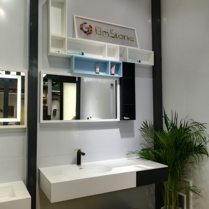 Commercial Bathroom Sink Cabinets High Strength Weather Resistant