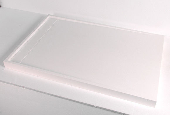 High Gloss Non Slip Quadrant Shower Trays Low Thermal Conduction