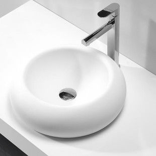 Sanitary Ware Counter Top Basin For Hotel / Fancy Table Top Wash Basin